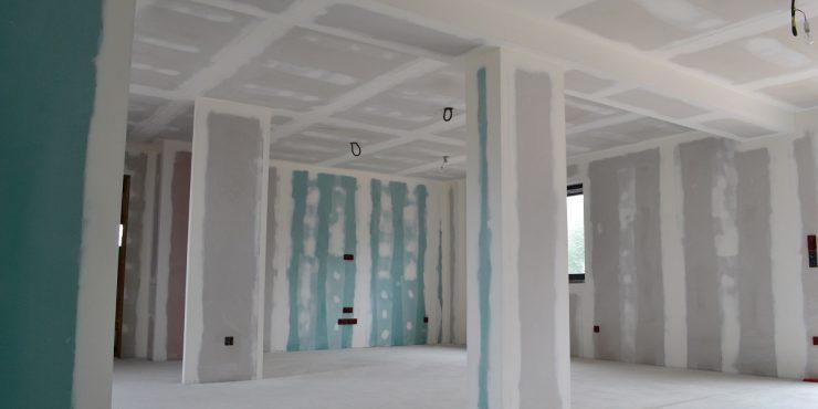 wystąpenie wilgoci przy pracach remontowych w budynku