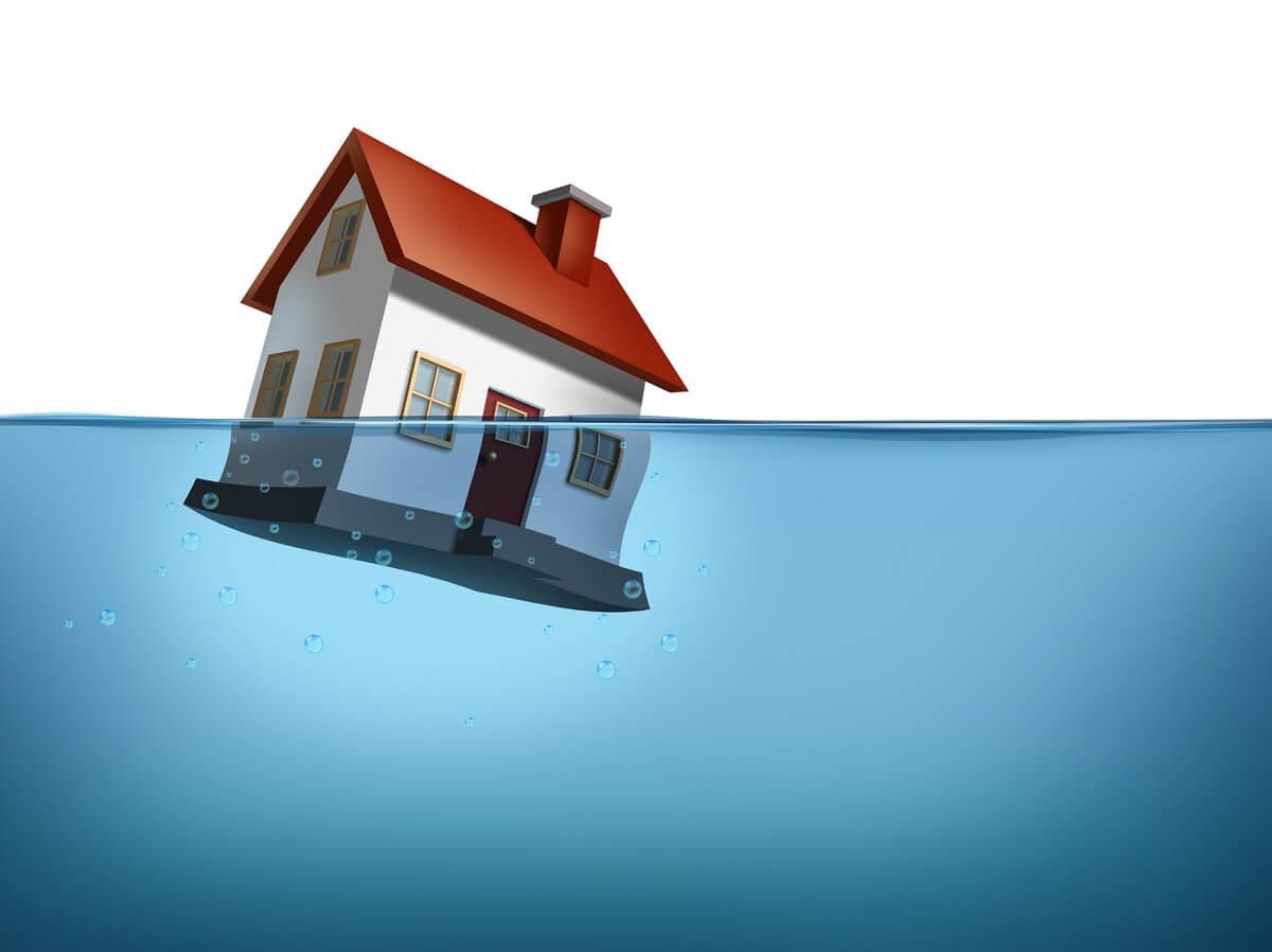 zalany dom jednorodzinny - osuszanie warszawa