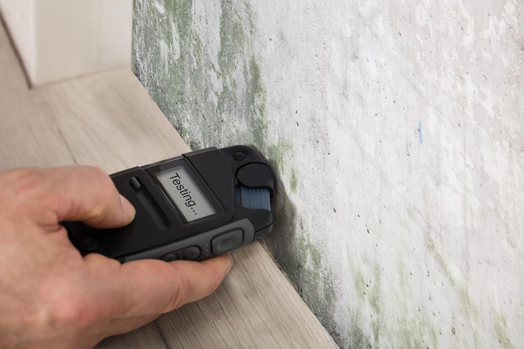 pomiar wilgoci -osuszanie ścian białystok